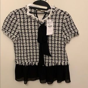 ZARA trf collection top